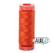 Aurifil 50 Cotton Thread - 1104 (Neon Orange)